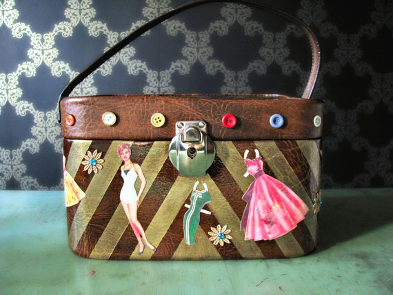 La Bambola - Vintage Restyled Beauty Case