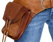 Single Sahara Leather Hip-Bag