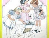 Vintage Girls Size 5 Cinderella Dress Sewing Pattern, UNCUT