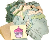 D.I.Y. iron-on fabric transfer - cupcake multi-pack