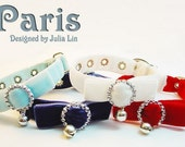 Paris II - The Cute Collar for Your Pet (Dog, Cat, or any Small Animals)