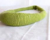 Fruta de Pan. Breadfruit Cotton Crochet Necklace. Choose your color