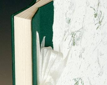 Handmade Photo Album: Green Fern large