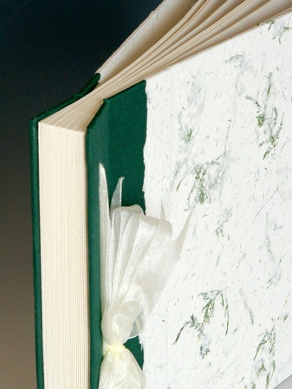 Handmade Photo Album: Green Fern large