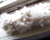 SALE sugar puff handspun yarn
