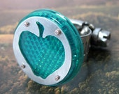Green Apple Bike Reflector