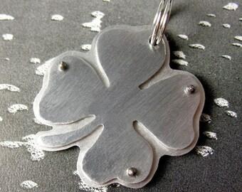 4 Leaf Clover pet tag