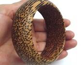 STYLISH Sugar Palm Wood Bracelet Bangle Cuff