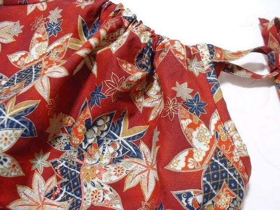 Pillowcase dress - Japanese maple in red - 2T - 3T -