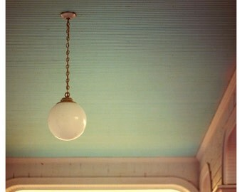 Pendant Sunrise Edition - Michigan Art - Mackinac Island Art - Architecture - Fine Art Photograph - Green Art - Home Decor - Wall Art - Bock