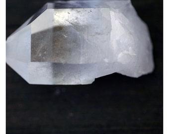Crystal Art - Quartz - Gem - Jewel Art Print - Fine Art Photograph - Nature Photography - Nature Print - Alicia Bock - Black and White Art