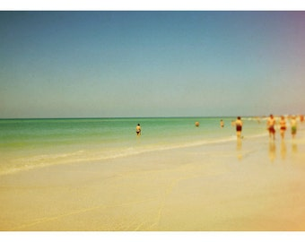 Beach Photograph - Fine Art - Nature Photography - Florida Photograph -  Siesta 1 - Ocean Photograph - Home Decor - Oversized Art - Modern
