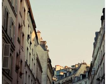 Paris Photograph - Fine Art Photograph - Pastel Paris - Paris Print - French Photography - Paris Art - Pink Art - French Print - Oversized