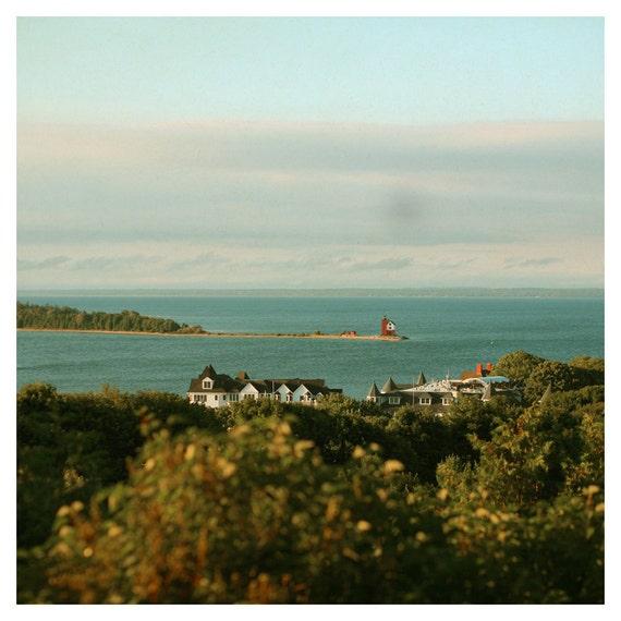Landscape Photograph - Michigan Photography - Mackinac Island - Round Island - A Very Good Morning - Fine Art Photograph - Travel Art - Boc