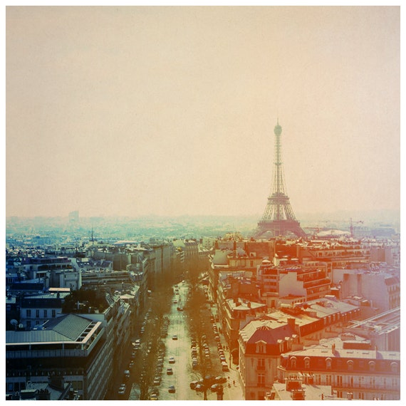 Eiffel Tower Art - Paris Photograph - Paris Print - French Photography - Iron Lady - Fine Art Photograph - Alicia Bock - Gift For Her - Art