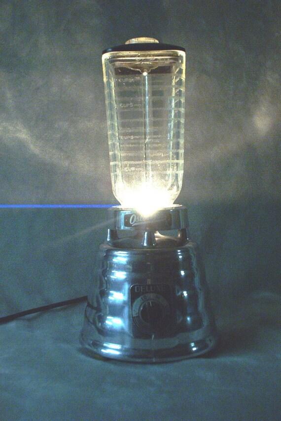 BLENDER LAMP Retro Osterizer 1950s