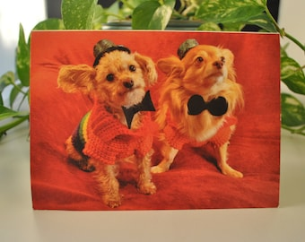 Gay Wedding Greeting Card - Husbands