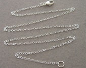 16 inch sterling silver chain (for your pendant)