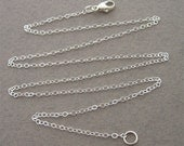 18 inch sterling silver chain (for your pendant)