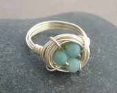 Bird's Nest Ring (Robin) - original and first on Etsy since 2006