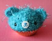 Amigurumi Light Blue Cupcake Bear