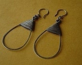 TUTORIAL Tear Drop Wire Wrapped Earrings