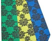 Wallpaper Heart Damask Skinny Tie