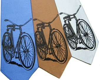 Bicycle Silk Tie