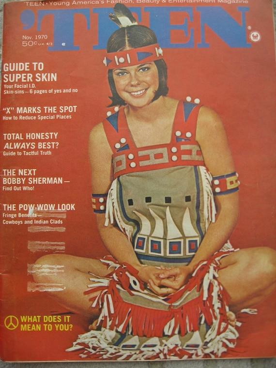 TEEN Magazine Vintage Nov. 1970