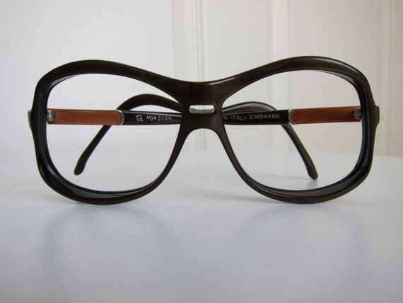 Mens Hipster Eyeglass Frames : RESERVED 70s Italian Hipster Glasses Vintage Eyeglass Frames
