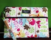 iPad Case - Apple iPad Case - Padded iPad Bag - Padded Cover- Kindle DX - Butterfly Garden