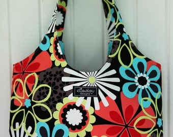 Boho Tote Bag- Flower Shower