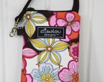 Padded Gadget Pouch- iPhone iPod Pouch cellphone flip camera blackberry- Liberty