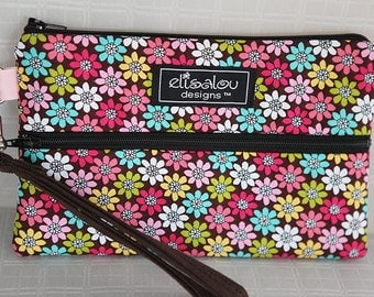 Padded Wristlet Mini Purse- Geodaisy