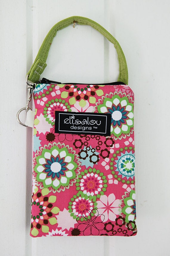 Flora Padded Gadget Pouch- iPhone, iPod Touch, iPhone5, Camera