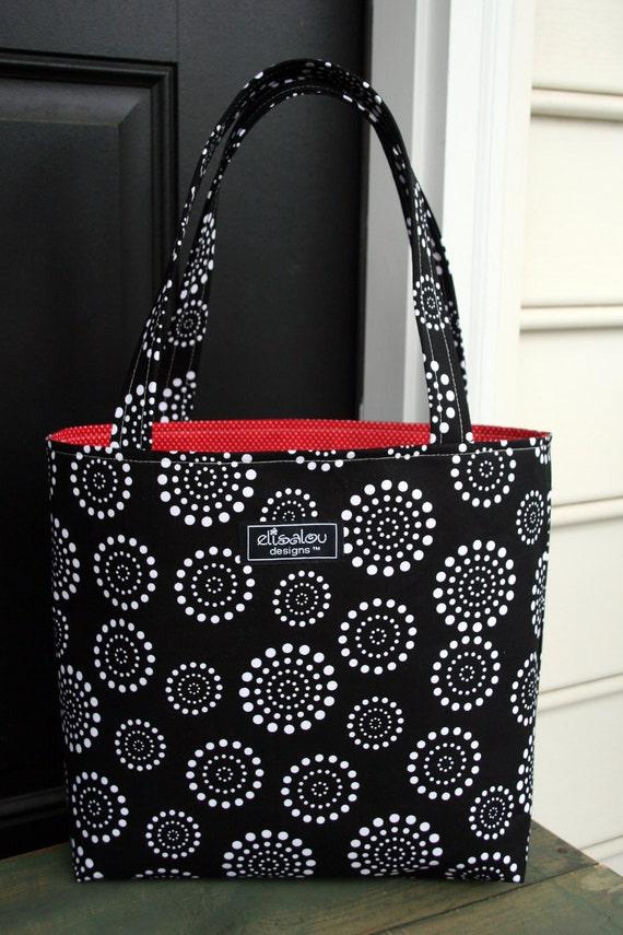 Spiral Dot MaryBeth Bag Tote