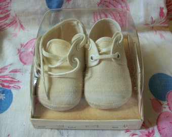 Mrs. Day's Ideal Baby Crib Shoes in the Box