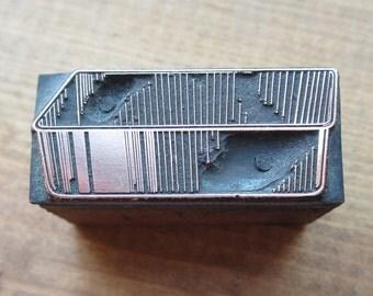 Loaf Pan Vintage Letterpress Printers Block
