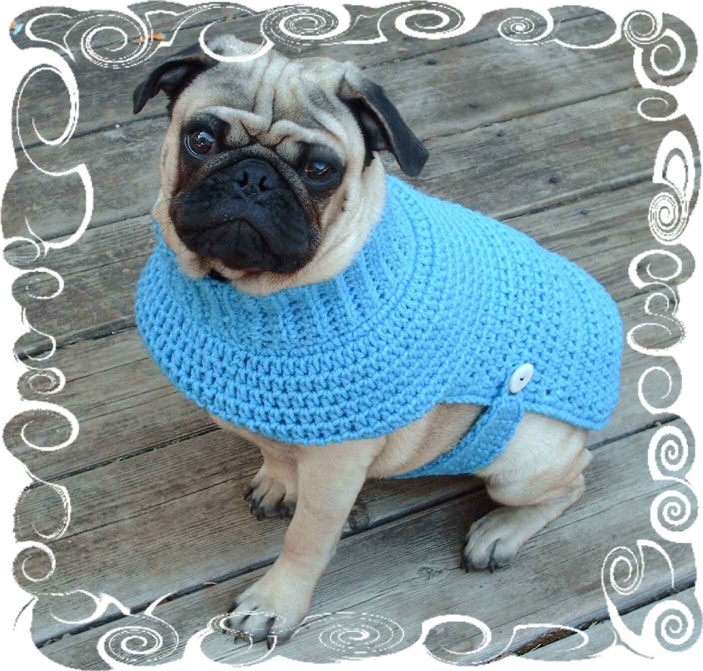 Crochet pet sweaters free patterns squareone for dog sweater crochet pattern puppy crochet sweater by hmcquigg bankloansurffo Image collections