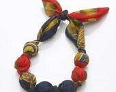 Gorgeous Vintage Scarf Necklace