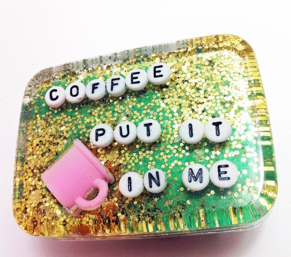 White Elephant Gift  - Coffee: Put it in Me