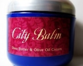 Custom Scented Pure Shea Butter and Olive Oil Cream 16 oz