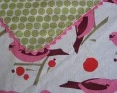 pink birdseed PROMENADE blanket