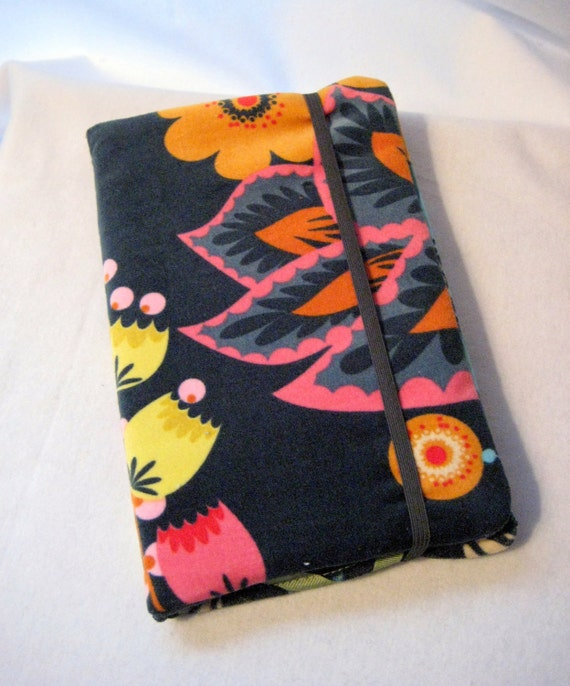 Kindle Cover- Nook cover case-Hardcover E-reader Case-Kindle Fire Case-Navy Loulouthi Velveteen