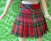 SALE-Pullip Plaid Pleated skirt
