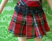 SALE Pullip Plaid Skirt