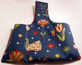 Swedish folk pattern handbag