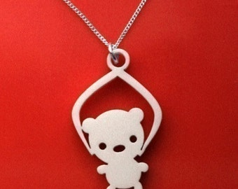Toy Grabber Necklace - cute Bear kawaii necklace