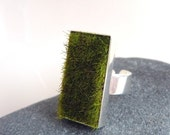 Gather, Rectangle Moss Ring