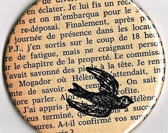 French Text Revamped - Pocket Mirror